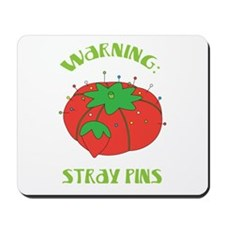 Warning: Stray Pins Mousepad
