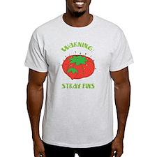 Warning: Stray Pins T-Shirt