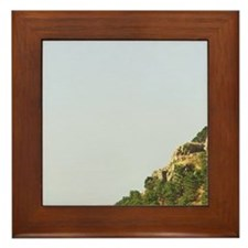 Italy, Sicily, Palermo, Geraci Siculo, Framed Tile