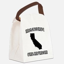 Ermahgerd! Cerlerferner (CA) Canvas Lunch Bag
