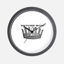 HOUSE BOY Wall Clock