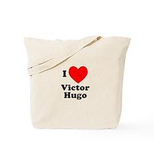 I Love Victor Hugo Tote Bag