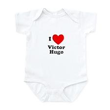 I Love Victor Hugo Infant Bodysuit