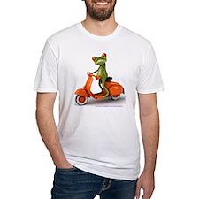 Around Cairns frog on Vespa Shirt