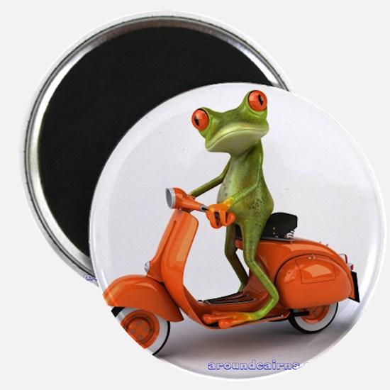 Around Cairns frog on Vespa Magnet