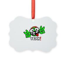 YEAH! GREEN MAN Ornament