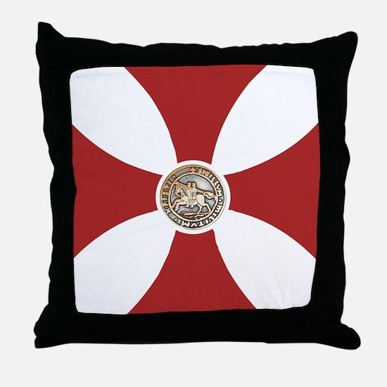 Pattee & Seal Throw Pillow