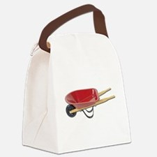 RedWheelbarrow050111.png Canvas Lunch Bag