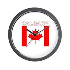 Cute Calgary Wall Clock