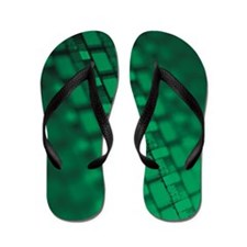 An array of silicon chips Flip Flops