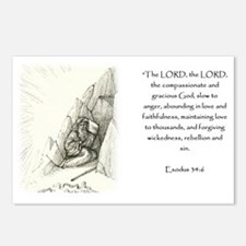 Exodus 34:6 Postcards (Package of 8)
