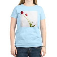 Two red tulips, studio shot T-Shirt