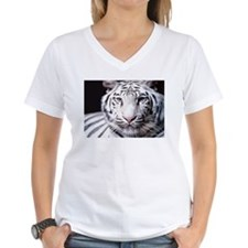 White Bengal Tiger Shirt