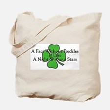 Irish Freckles Tote Bag