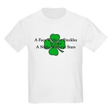 Irish Freckles Kids T-Shirt
