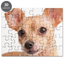 Portrait of small dog Puzzle