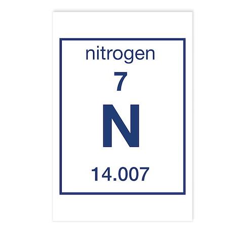 Periodic Table Nitrogen Postcards | Periodic Table Nitrogen Post ...