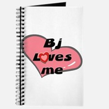 bj loves me Journal