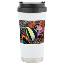 Moorish idol Zanclus comutus on Travel Mug
