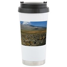 Turkey, Mount Ararat, volcano Travel Mug