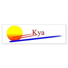 Kya Bumper Bumper Sticker