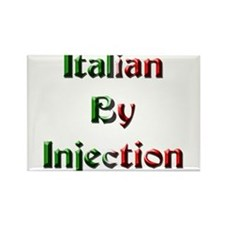 Italian By Injection Rectangle Magnet
