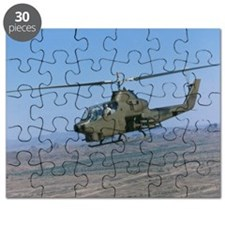 Low angle view of a Cobra Attack helicopter Puzzle