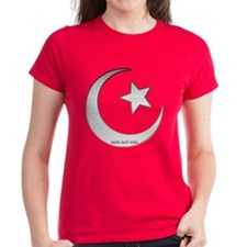 Silver Star and Crescent Tee