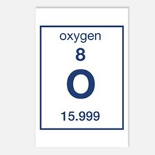Oxygen Postcards (Package of 8)