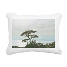 The tall tree on the lef Rectangular Canvas Pillow