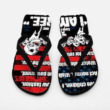 United States of Conformity Flip Flops