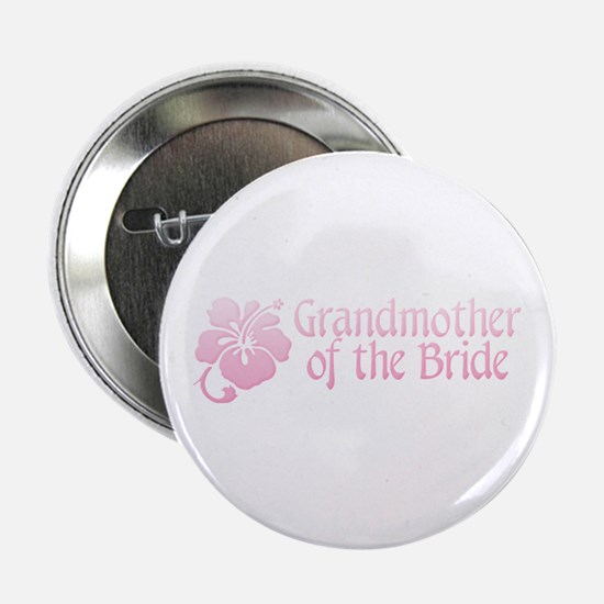 Hibiscus Grandmother of Bride Button