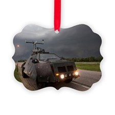A storm chaser's armored vehicle  Ornament