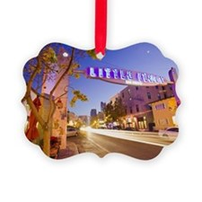 Entrance to Little Italy district Ornament
