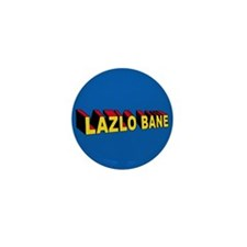 Mini Super Lazlo Bane Button (10 pack)