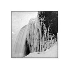 "Icy Veil Square Sticker 3"" x 3"""