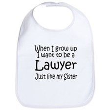 WIGU Lawyer Sister Bib