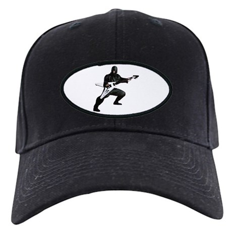 Guitar Ninja Black Cap