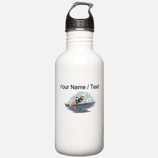 Custom Water Skiing Sports Water Bottle