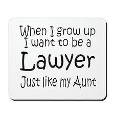 WIGU Lawyer Aunt Mousepad