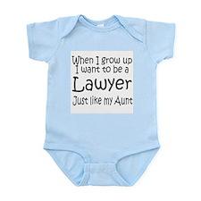 WIGU Lawyer Aunt Infant Bodysuit