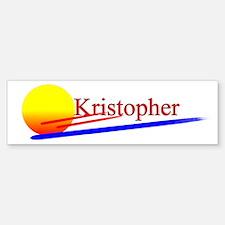Kristopher Bumper Bumper Bumper Sticker