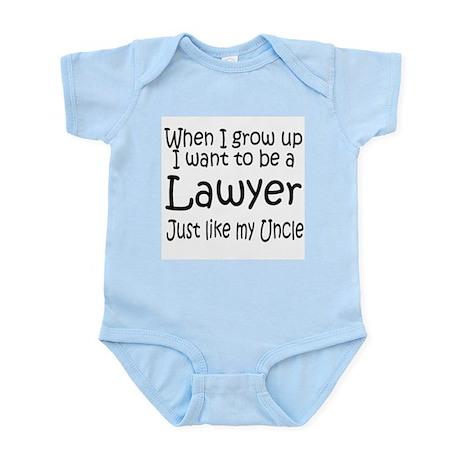 WIGU Lawyer Uncle Infant Bodysuit