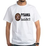 Pysanka Addict White T-Shirt