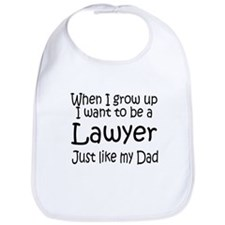 WIGU Lawyer Dad Bib