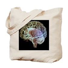 Cerebral arteries Tote Bag