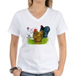 Assorted Cochins Women's V-Neck T-Shirt