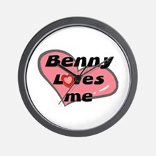 benny loves me  Wall Clock