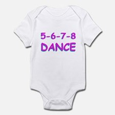 5-6-7-8 Dance Infant Bodysuit