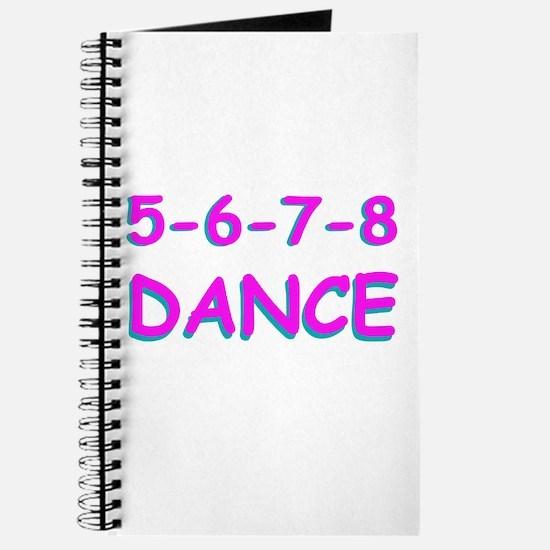 5-6-7-8 Dance Journal